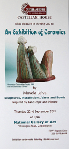 An Exhibition of Ceramics